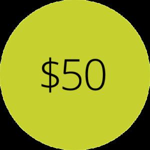 Membership - $50 Level