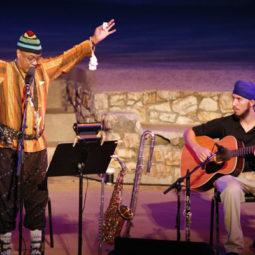 Joseph Jarman (L) and Ram Dass (R)